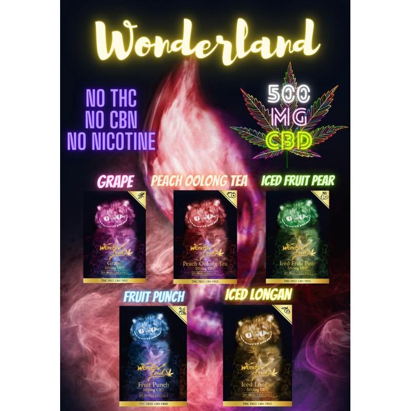 wonder land CBD 500mg一粒(GOSS/RELX一代通用)